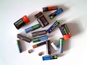 empty - batteries