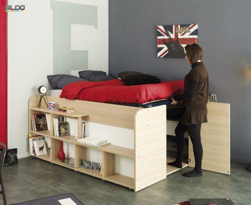 posteľ Space